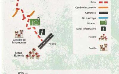 Ruta de la Sierra de Santa Eufemia I (cara norte)