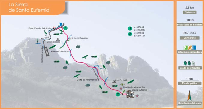 Ruta de la Sierra de Santa Eufemia II 1