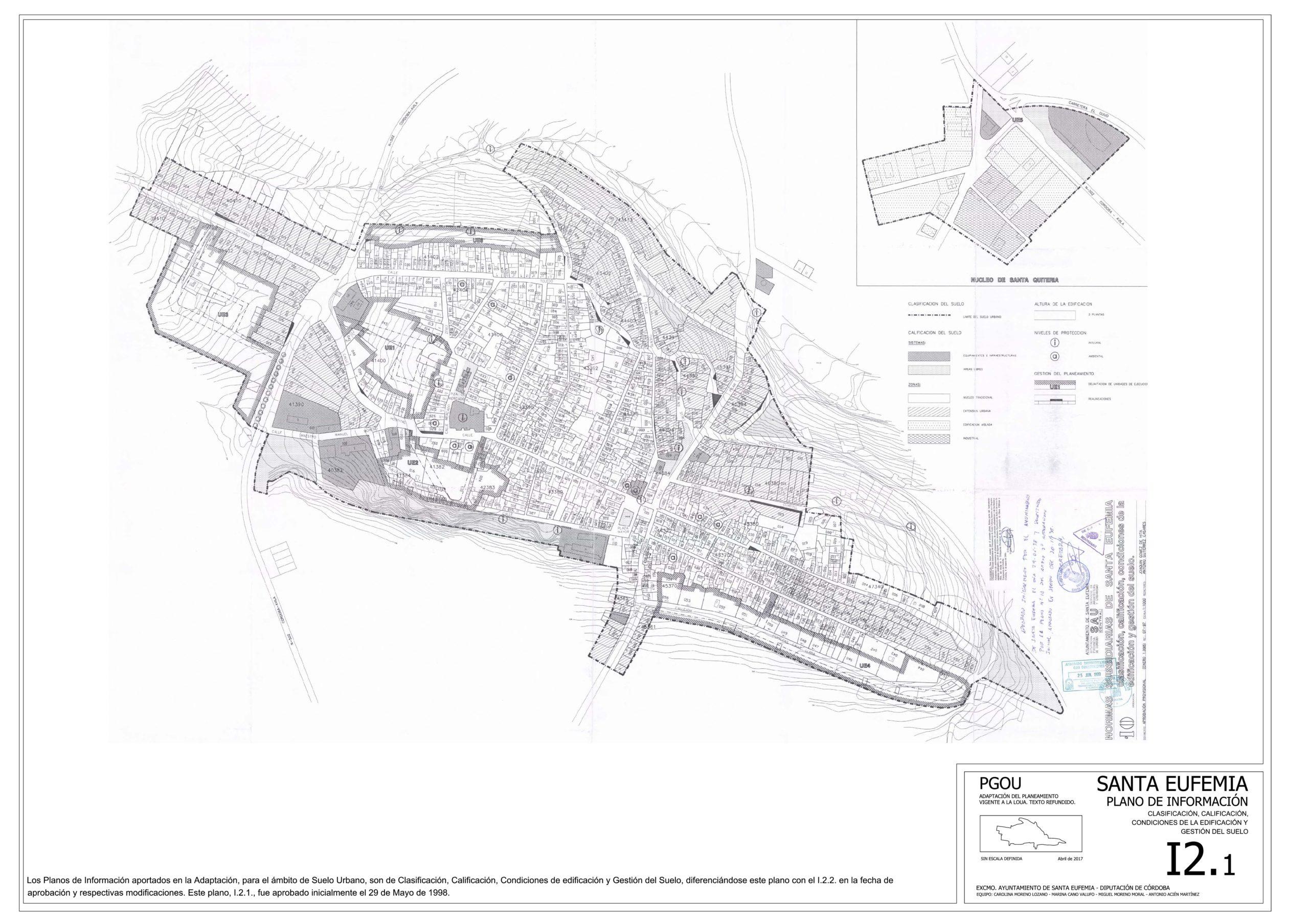 Transparencia en materias de urbanismo, obras públicas y medio ambiente 17