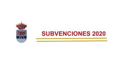 SUBVENCIONES CONCEDIDAS AL EXCMO. AYUNTAMIENTO DE SANTA EUFEMIA, AÑO 2020